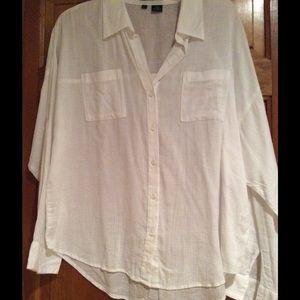 Sandra Ingrish Tops - White cotton blouse