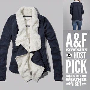 Abercrombie & Fitch Sweaters - Abercrombie & Fitch Eddy Sherpa Cardigan XS/S