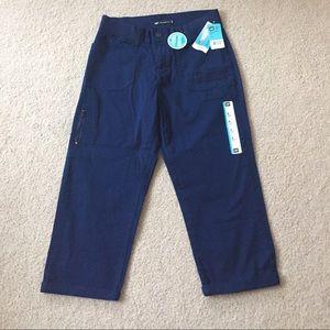 Lee Pants - NWT Super Cute Comfy Blue Capri