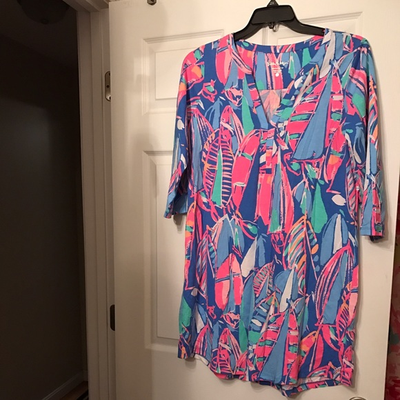 7d18a217c62191 Lilly Pulitzer Dresses & Skirts - Lilly Pulitzer Size Large Ali dress Out  to Sea