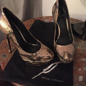 Sexy Brian Atwood heels