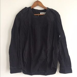 Madewell Tops - Madewell Denim Smock Pullover