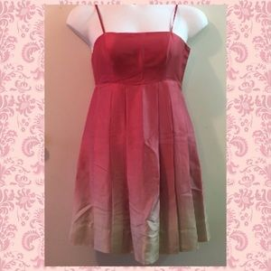 The Limited Dresses & Skirts - Date Dress🌹The Limited Pink/Red ombre Silk Dress