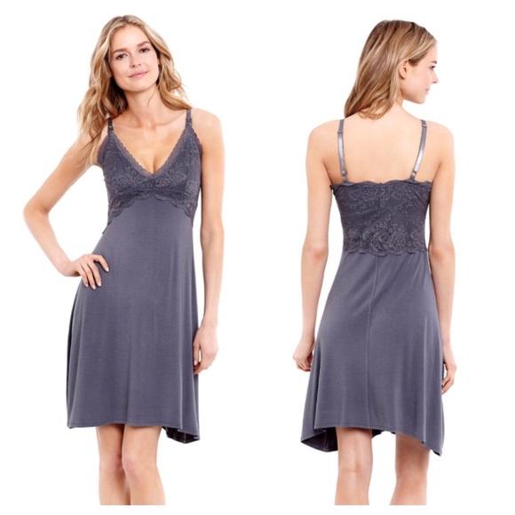 Jessica Simpson Intimates & Sleepwear | Maternity Lace Nursing Gown ...