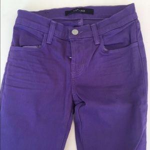 J Brand new high rise skinny jeans