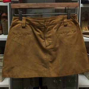 😍D&G Suede Mini Skirt