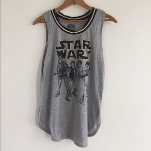 Star Wars Tops - Star Wars Vintage Ringer Tank