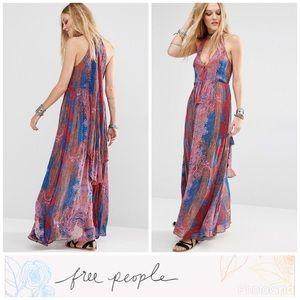 Unattainable Printed Maxi Dress