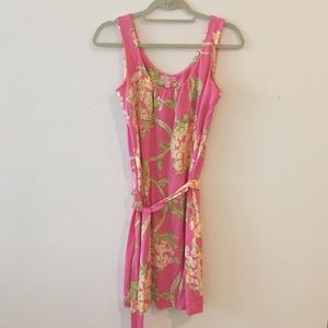 Lily Pulitzer pink floral dress