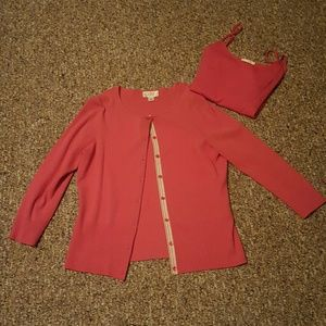 Ann Taylor Loft  2 pc sweater and tank. SALE