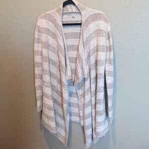 Barefoot Dreams Sweaters - Barefoot Dreams Bamboo Lite Calypso wrap S/M strip