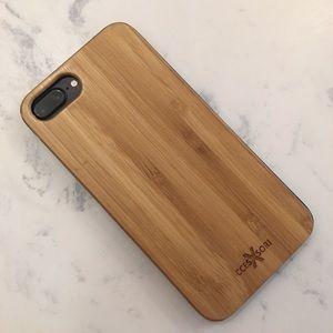Bamboo Wood iPhone Case🌴++2 Screen Protectors