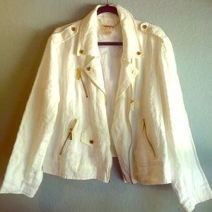 Michael Kors Jackets & Blazers - NWOT! Michael Kors Linen Jacket