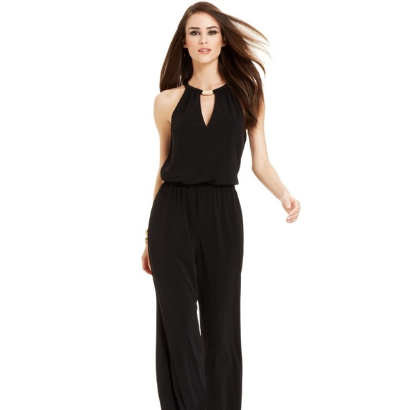 fb2cac699923 Guess Pants - GUESS Black Jumpsuit