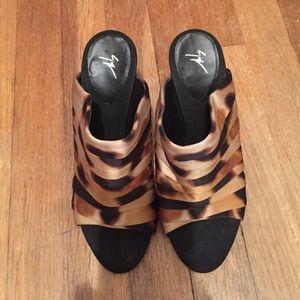 Giuseppe Zanotti leopard shoes