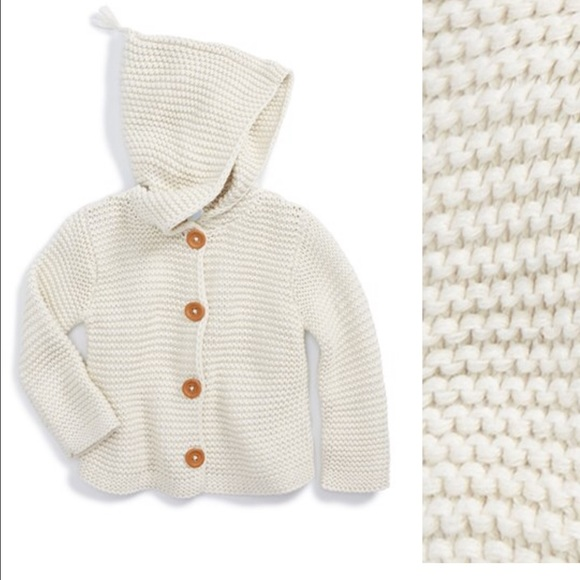 61% off Stem Baby Other - Stem Baby Organic Cotton Hooded Cardigan ...