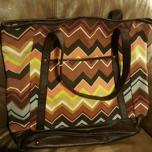 MISSONI for Target chevron tote