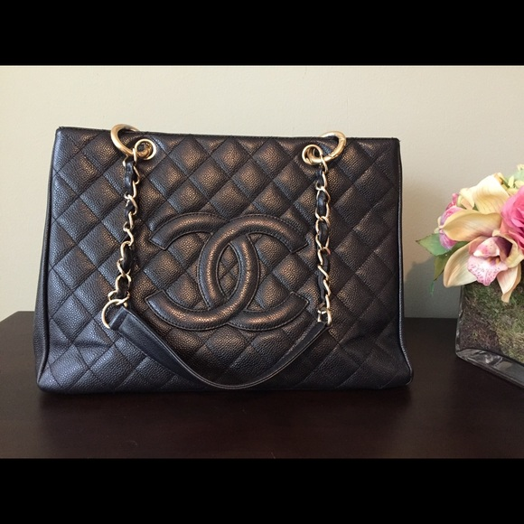 5f0fa4573760d8 CHANEL Handbags - Chanel grand shopping tote bag gst