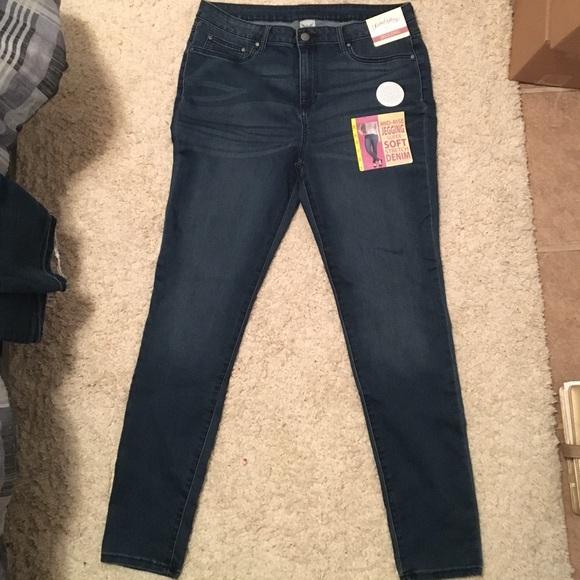 b5e2c371b55bee Faded Glory Jeans | Midrise Skinnyfit Super Soft Jeggings | Poshmark