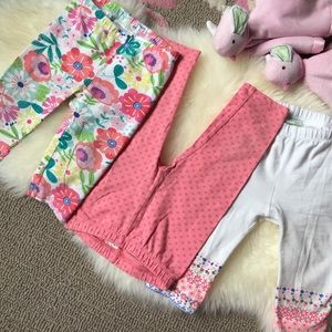 First Impressions Other - 💕3x adorable baby leggings 6-9 months 💞