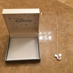 """Disney Other - Disney 18"""" silver plated necklace"""