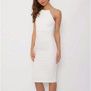 Dresses & Skirts - White Strappy Midi