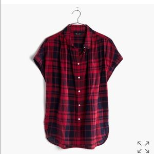 Madewell Tops - Madewell Central Shirt in Bushwick Plaid