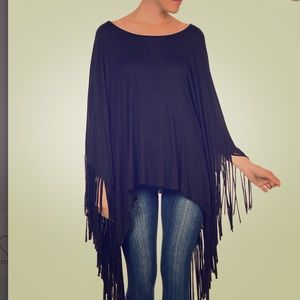 Tops - NEW PONCHO - ONE SIZE