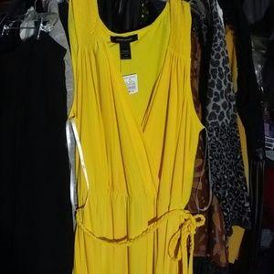 fb69ffd63c2 Ashley Stewart Dresses - Ashley Stewart Golden Goddess Maxi Dress. 18 20