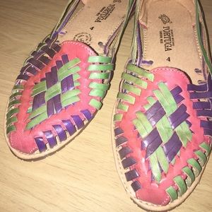Shoes - Ew Authentic Mexican Huaraches in size 7