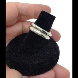 Tiffany & Co. Jewelry - Tiffany & Co. Doppio double wave band ring
