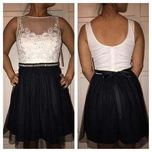 As U Wish Dresses & Skirts - Black and white dress