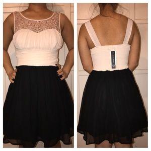 As U Wish Dresses & Skirts - Pink and black dress
