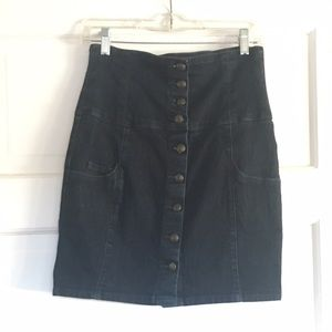 Dresses & Skirts - Amazing high waist jean skirt
