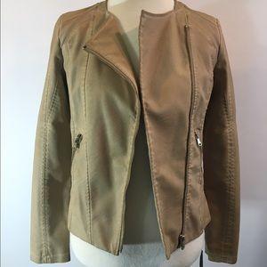 Collection B Jackets & Blazers - Vegan Leather Jacket