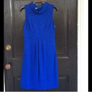 Maggie  London royal blue sleeveless dress