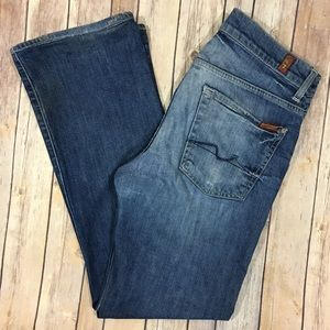 7 For All Mankind Other - 7 For All Mankind Jeans Boot Cut 33 Medium Wash