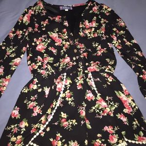Truly Me Other - kids floral romper