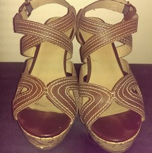 Kelly & Katie Shoes - Kelly & Katie Cork Wedges