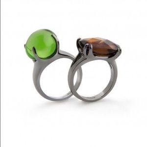 Jewelmint Jewelry - Jewelmint Lady Noir Rings - Size 8