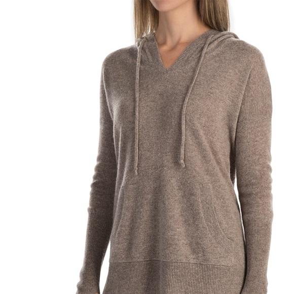 neues Konzept klar in Sicht sehr günstig Max studio 2 ply cashmere hoodie sweater