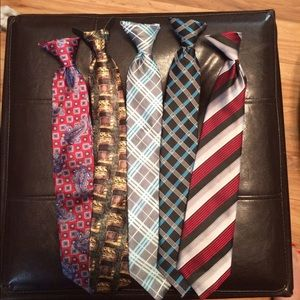 Other - ⭐ Lot of boys clip on ties