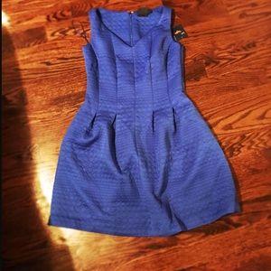 Just taylor Dresses & Skirts - Just Taylor Blue short dress Size 8