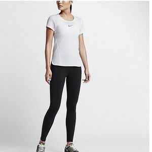 ae0971d11efe Nike Tops - NIKE dry feet white top
