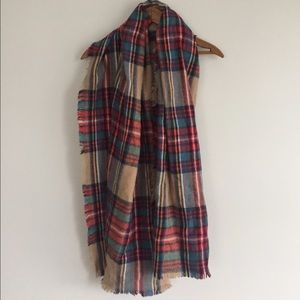 Merona Accessories - Plaid Blanket Scarf