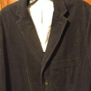 J. Crew Other - Men's J.Crew blazer vintage cord style. Black