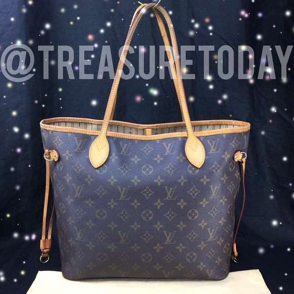 99456af55d719 Louis Vuitton Handbags - 🌸 Reserved 🌸 LV Neverfull MM Monogram Tote