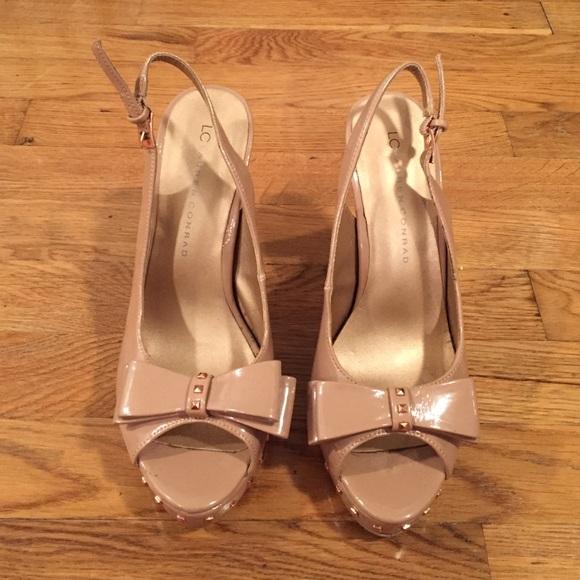 388fa68d796 LC Lauren Conrad Shoes - LC Lauren Conrad Nude Heels