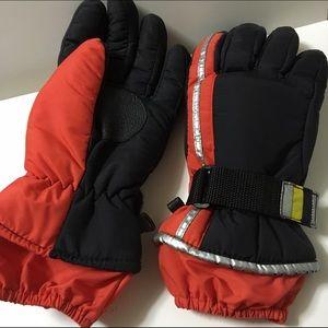 Other - Orange Winter Gloves