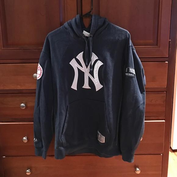 best website 07211 506f4 Majestic Athletic Yankees Hoodie men's